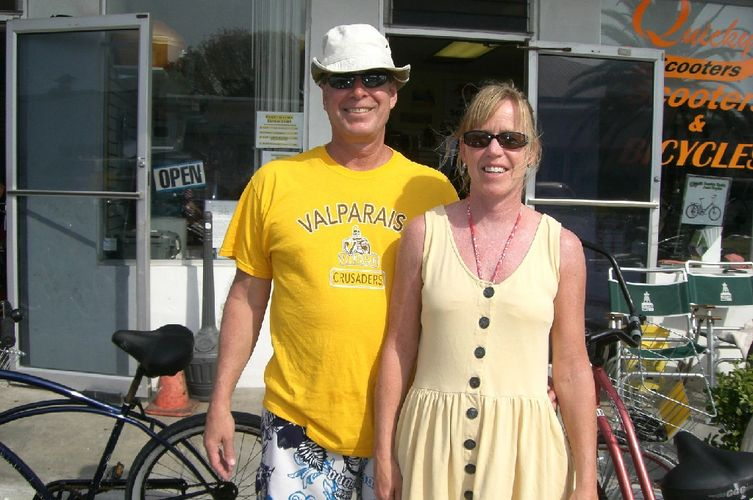 rent a quiky bike-fort myers beach